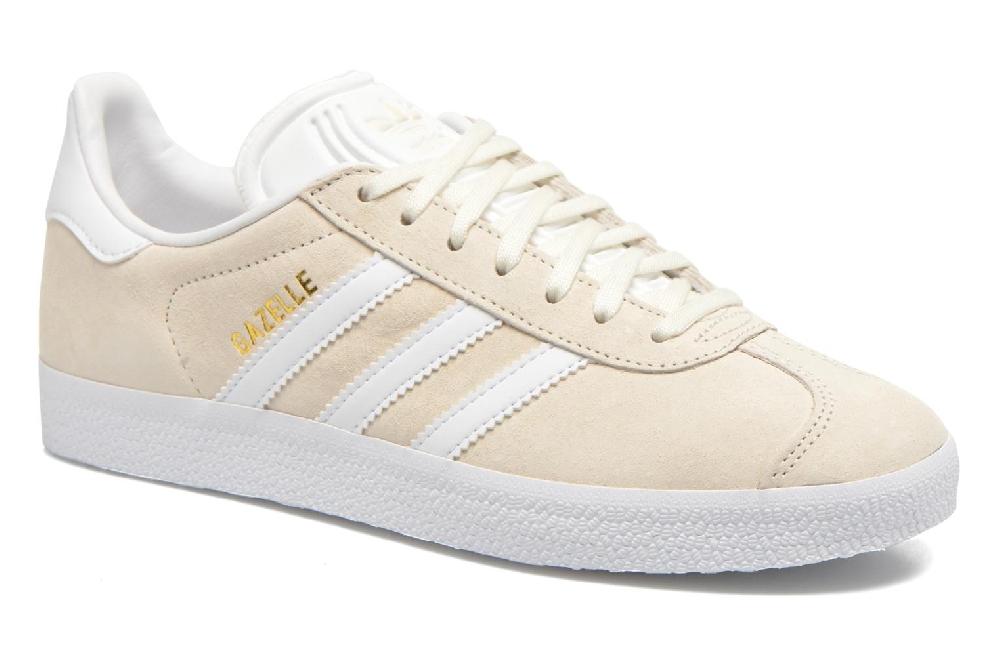 adidas gazelle beige femme