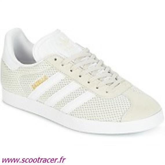 chaussure adidas gazelle femme beige