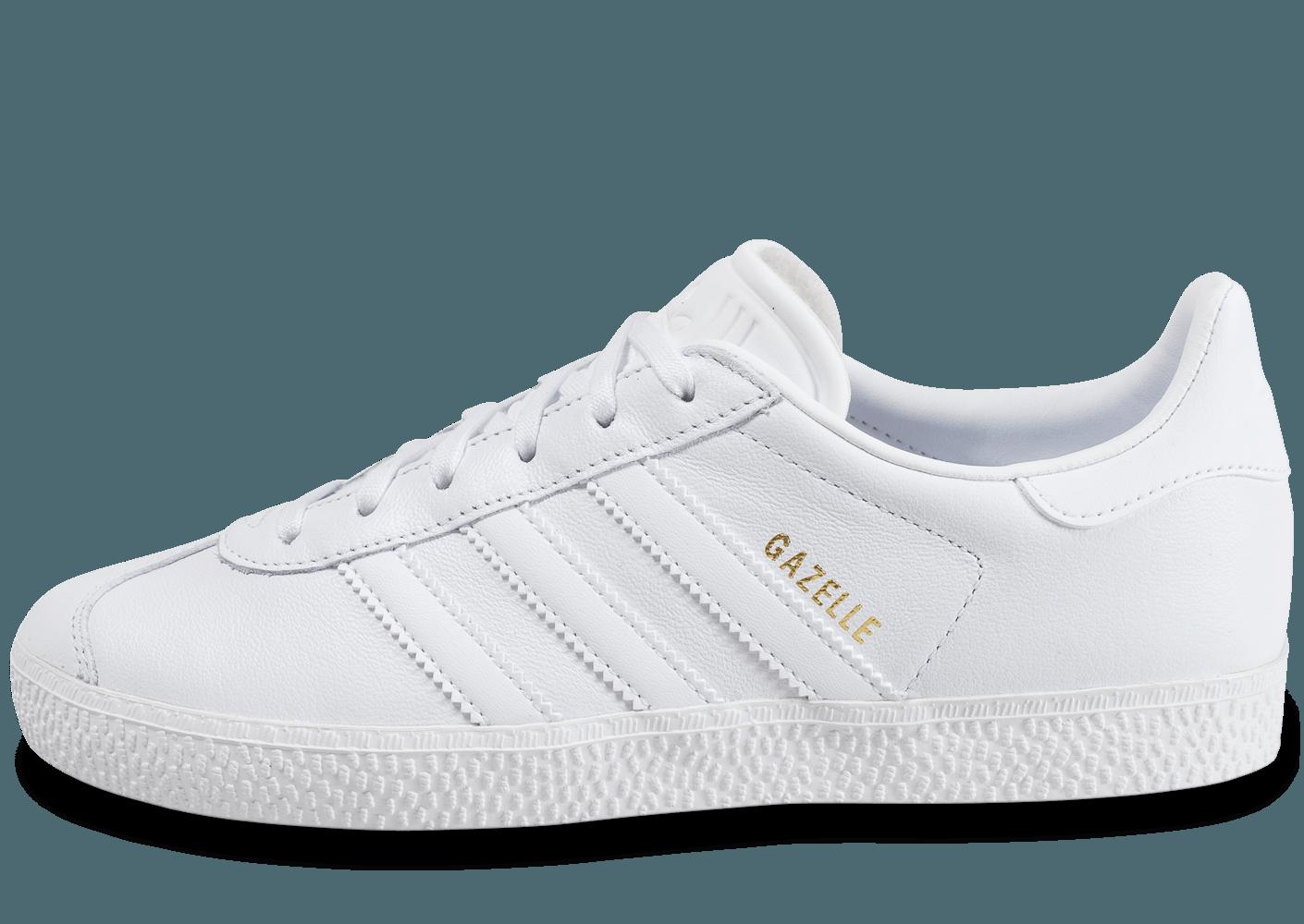 adidas gazelle femmes blanche