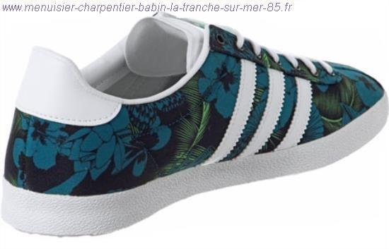 adidas gazelle femme fleur