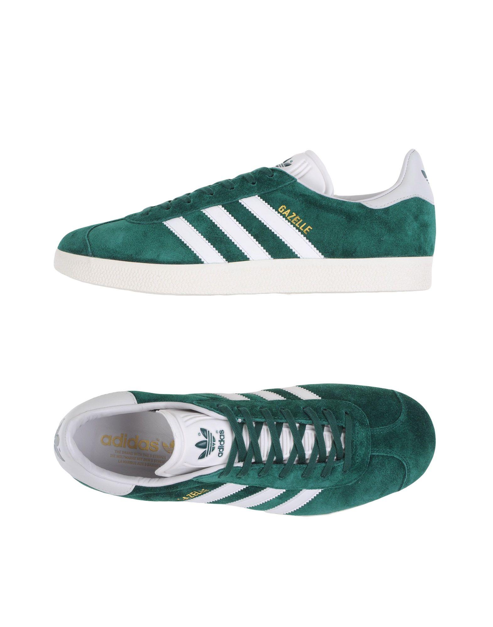 adidas femme gazelle vert