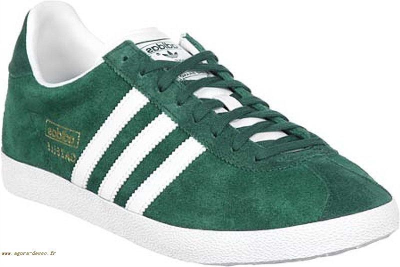 adidas homme chaussures verte