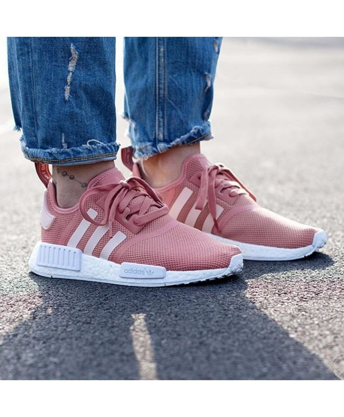 detailed look d9d8f 7c022 adidas nmd femme rose r1