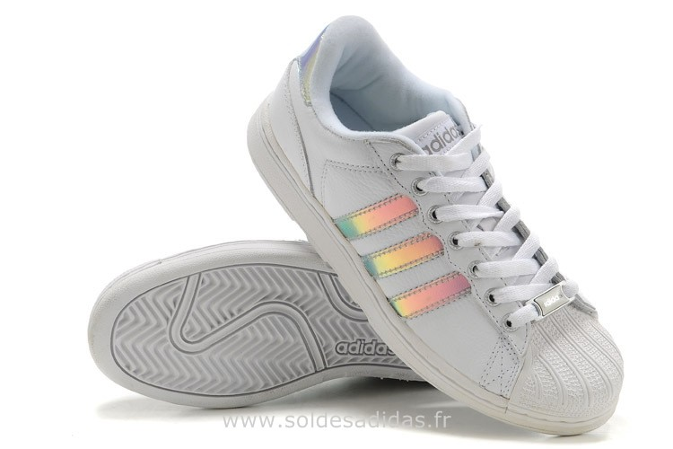 adidas blanche pas cher