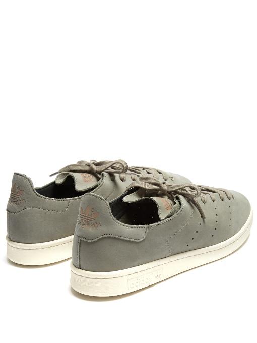 new style 5db56 1203f adidas stan smith nubuck