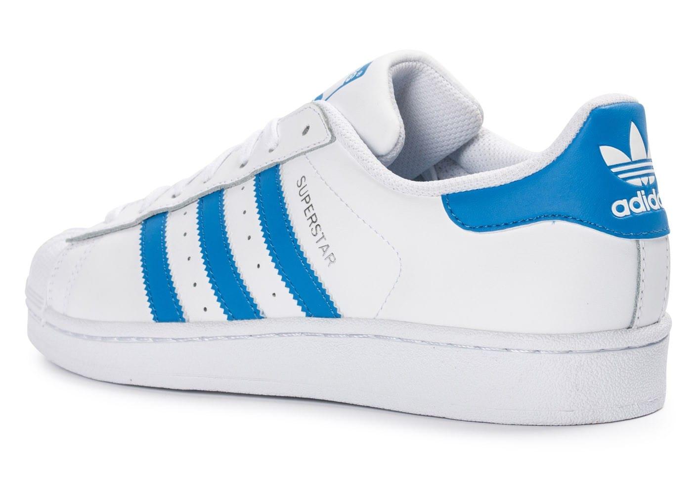 adidas chaussure super star bleu