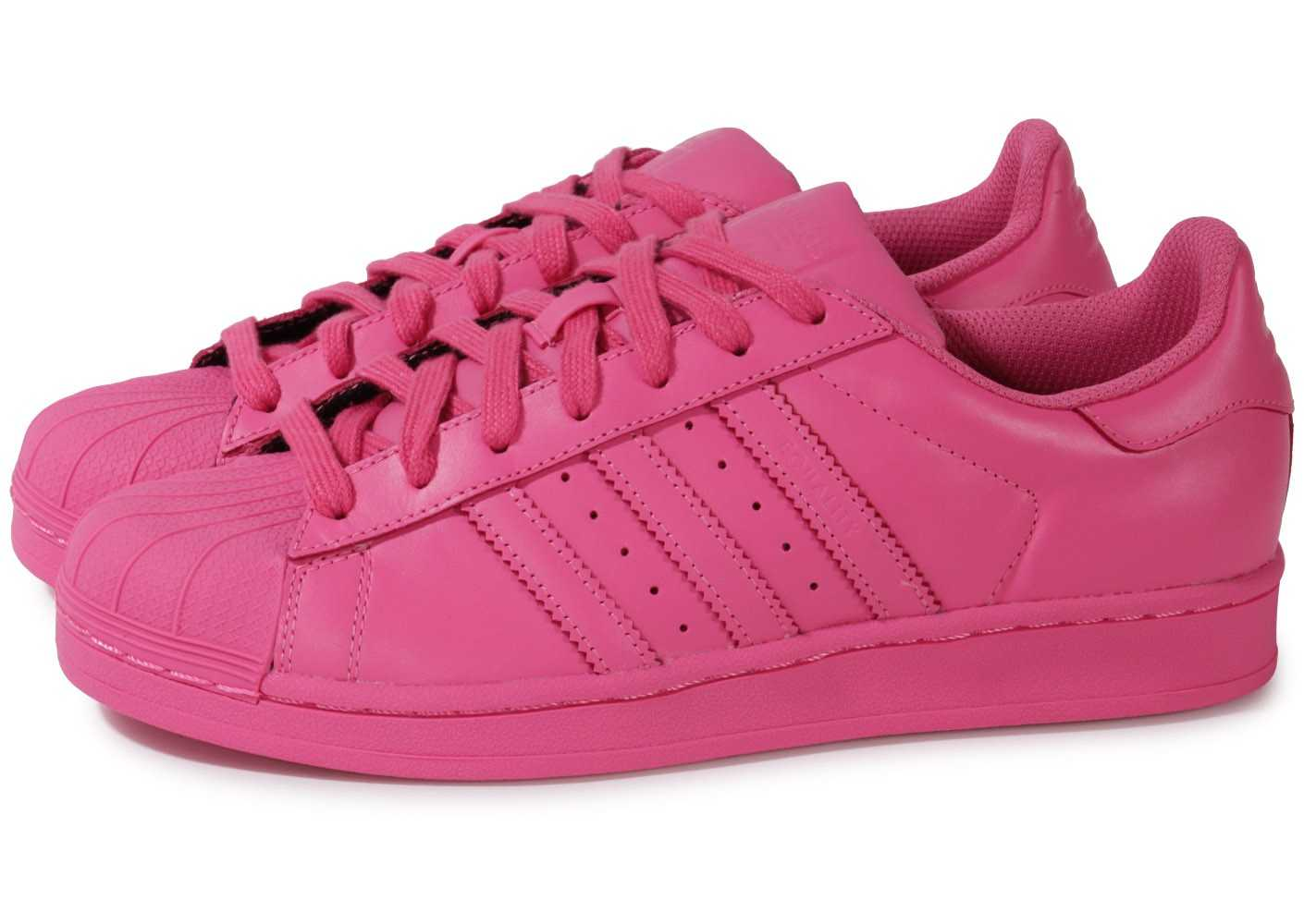 adidas superstar color rose