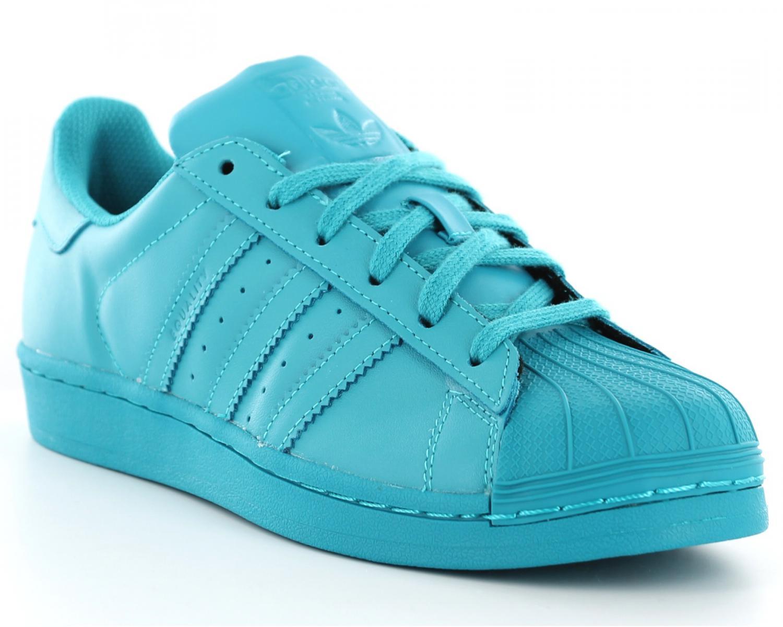 more photos 0633d df2be adidas superstar femme bleu turquoise