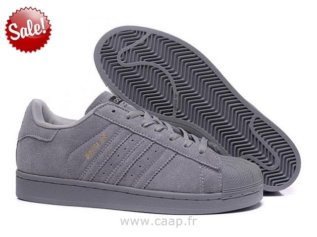 adidas superstar grise