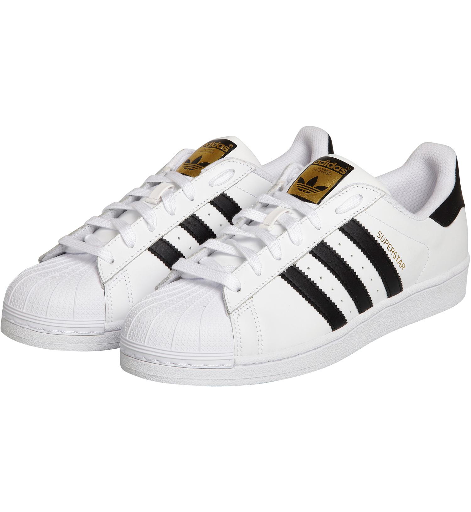 adidas superstar noir et blanc femme