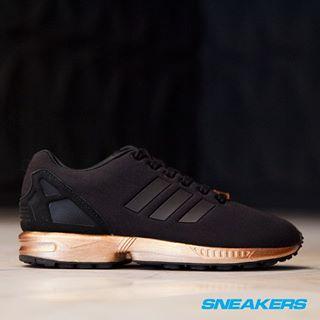 adidas zx flux light copper metallic