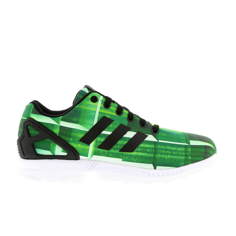 adidas zx flux femme verte online