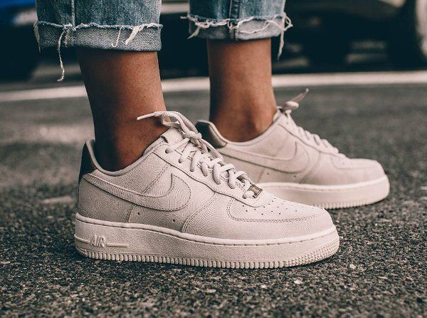 Nike Air Force 1'07 blanc rose femme Chaussures Prix