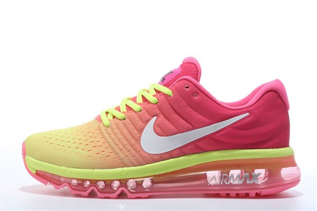 reputable site 6d036 815c6 air max 2017 rose et jaune