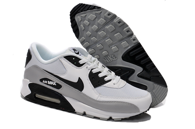 air max 90 blanc noir gris