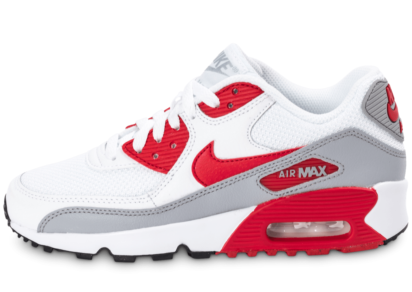sports shoes 7554a 7eb9c air max 90 blanche rouge