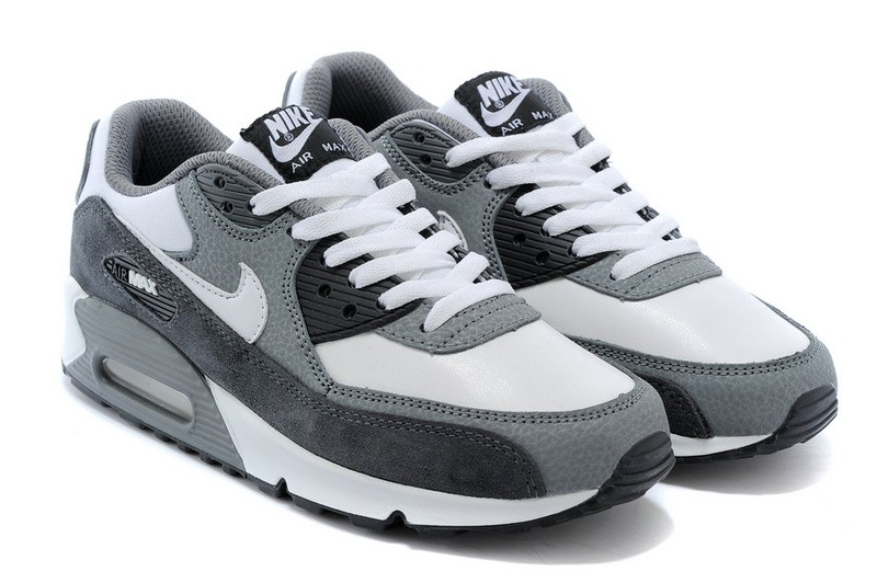 on sale 5df95 9deeb air max 90 femme blanche et grise