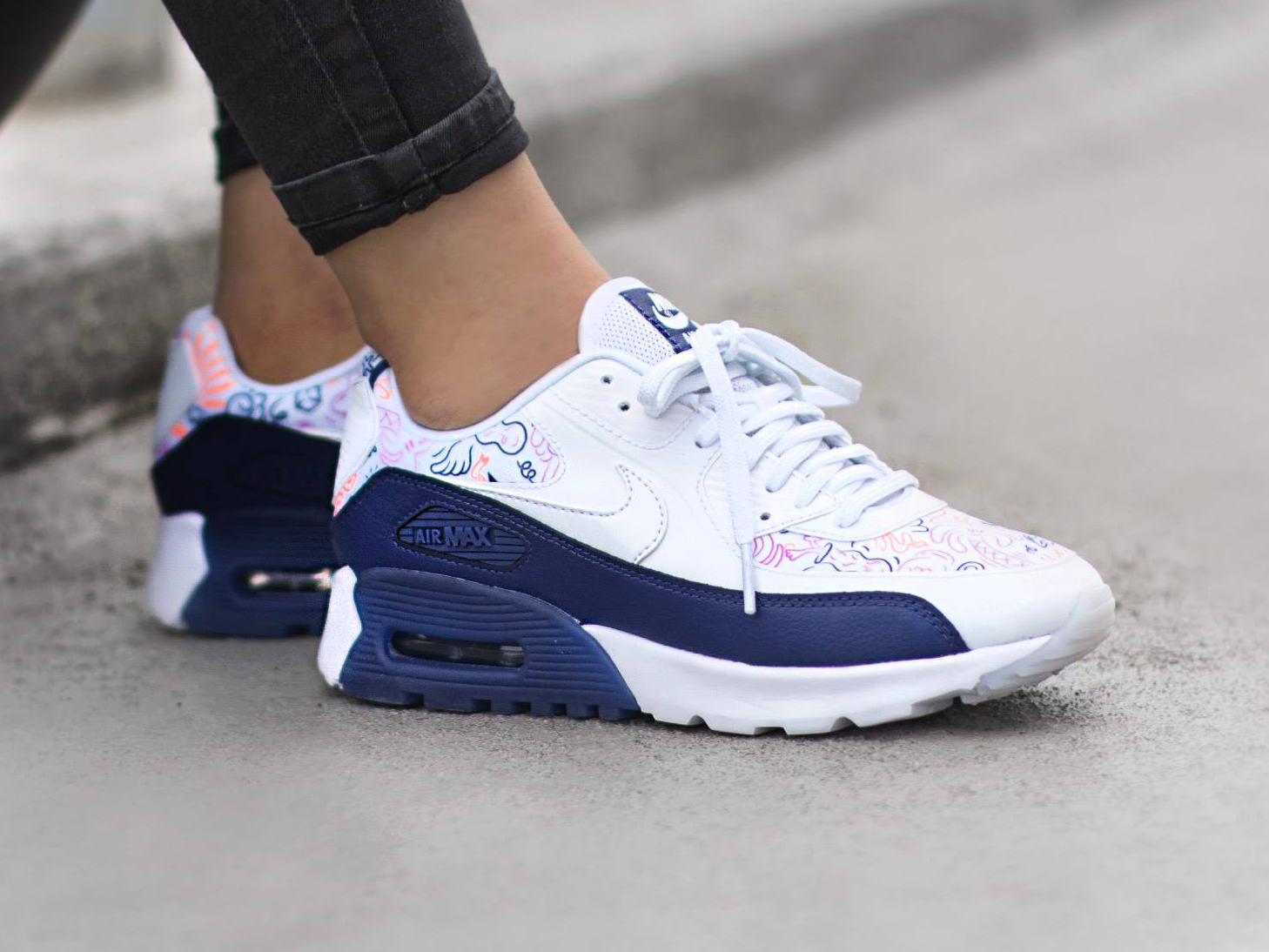 purchase cheap b6043 d6dc7 air max 90 femme nouvelle collection