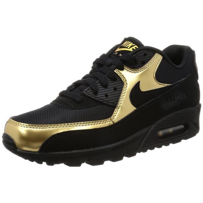 wholesale dealer af1ec 7b1a5 Prix de gros air max 90 noir or France vente en ligne, toutes les gammes de  chaussures Nike pour hommes et femmes outlet pas cher.