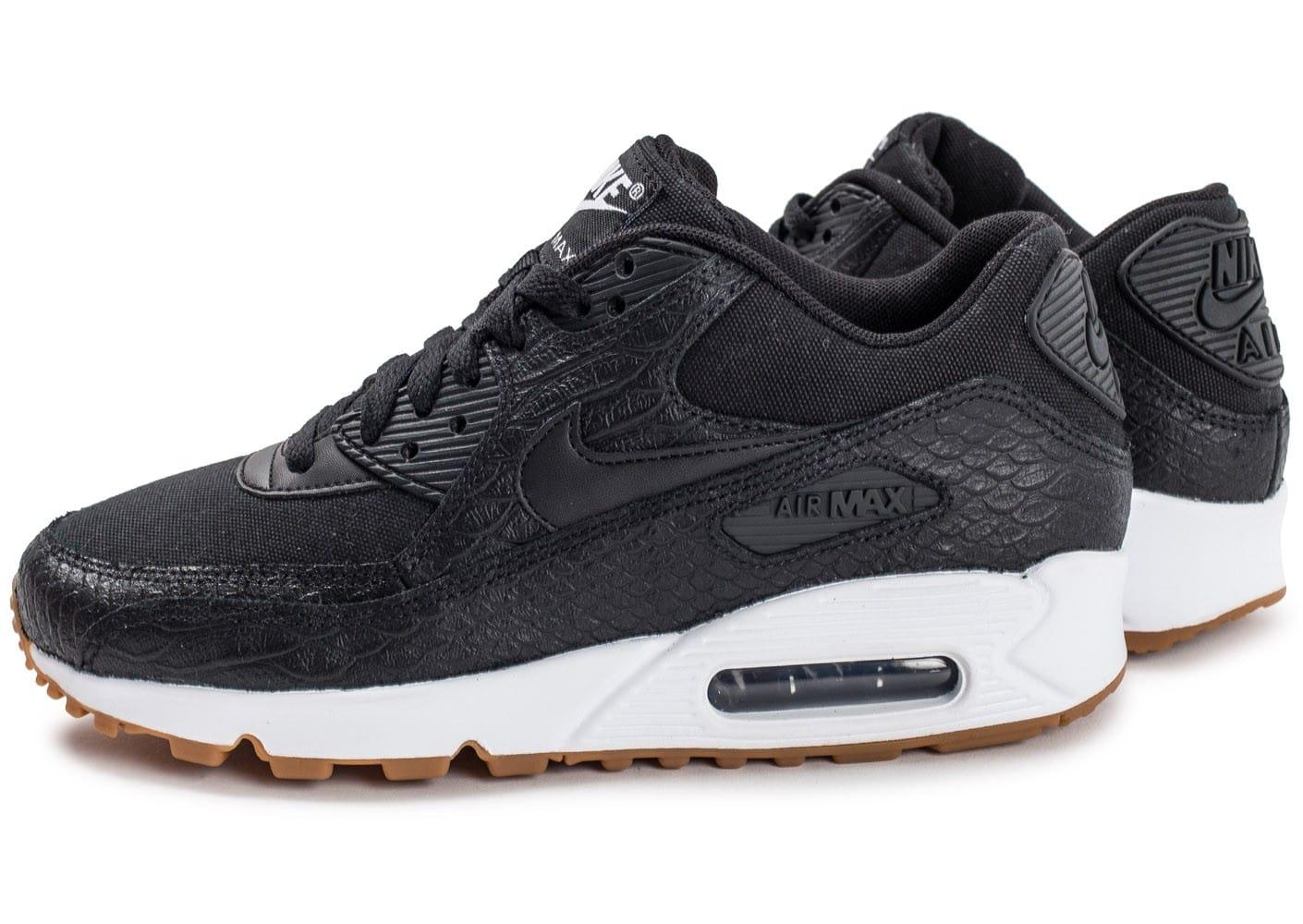 brand new a8b69 93b49 Prix de gros air max 90 premium noir femme France vente en ligne, toutes  les gammes de chaussures Nike pour hommes et femmes outlet pas cher.