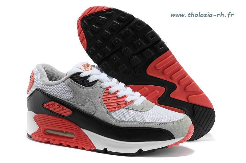 reputable site 9f308 0915f Prix de gros air max 90 rouge et gris France vente en ligne, toutes les  gammes de chaussures Nike pour hommes et femmes outlet pas cher.