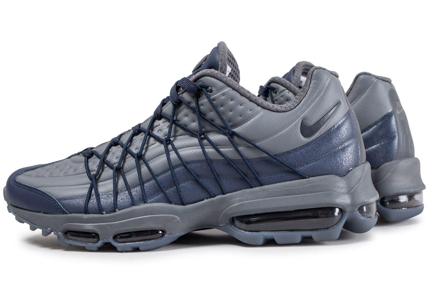 air max 95 gris bleu