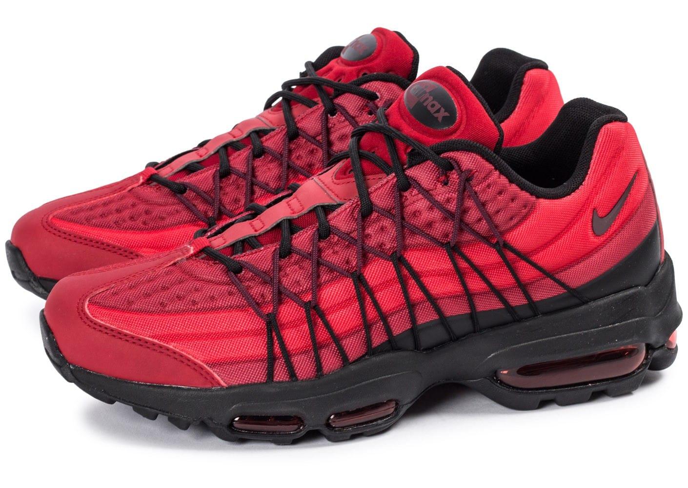 super cute d6171 87bc2 Prix de gros air max 95 ultra rouge et noir France vente en ligne, toutes  les gammes de chaussures Nike pour hommes et femmes outlet pas cher.
