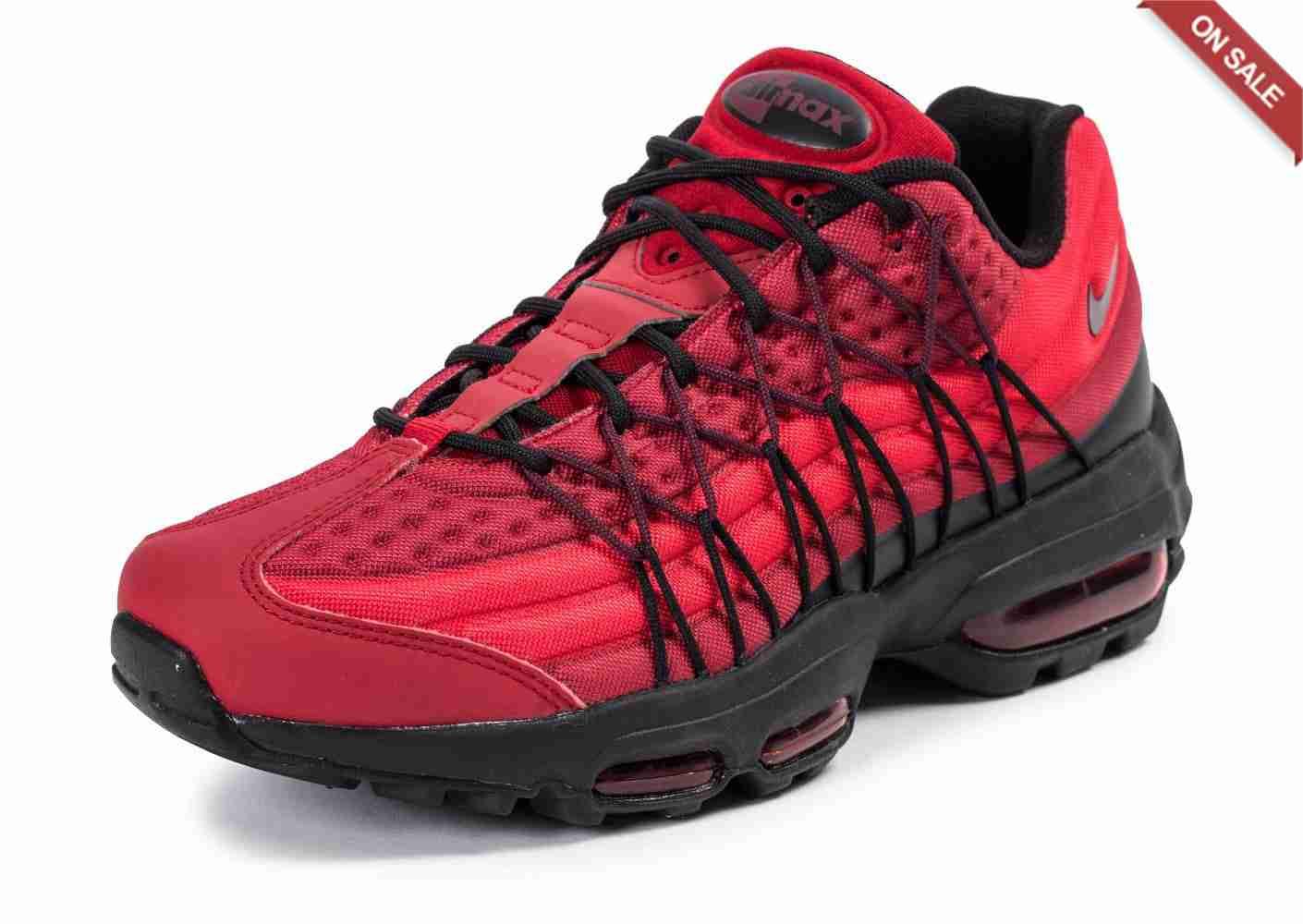 super cute a7b7b 3a905 Prix de gros air max 95 ultra rouge et noir France vente en ligne, toutes  les gammes de chaussures Nike pour hommes et femmes outlet pas cher.