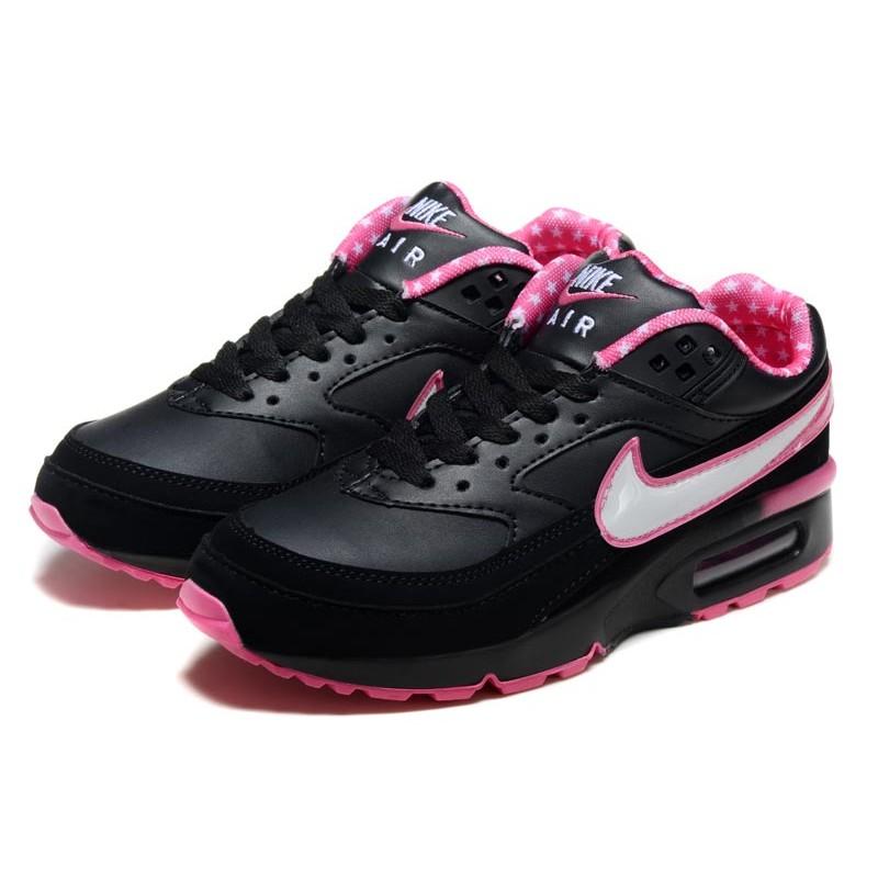 air max noir rose femme