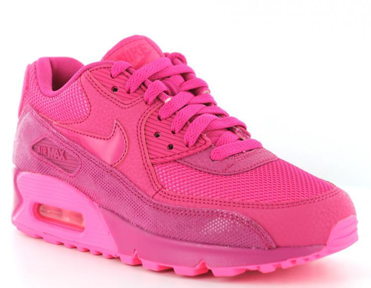air max rose fluo femme