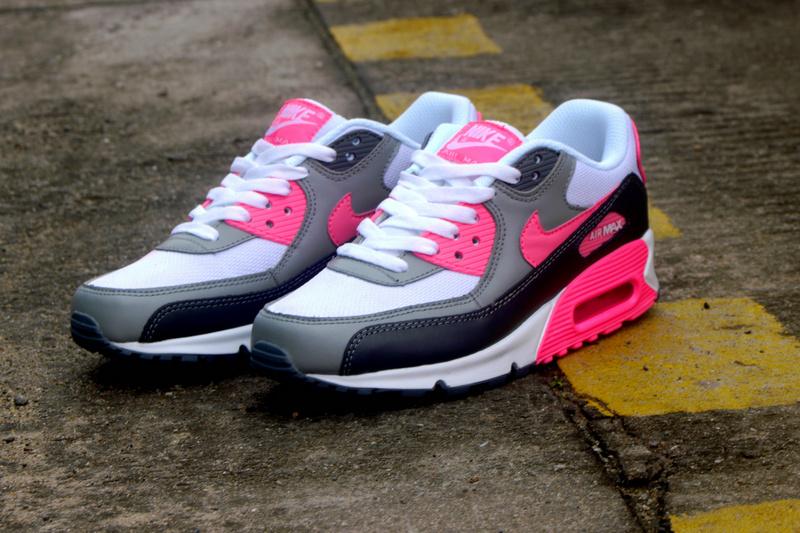 chaussure nike air max rose noir gris