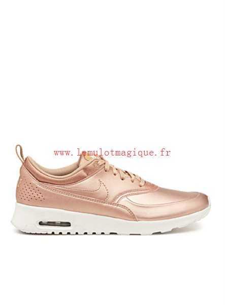 nike air max thea femme rose gold
