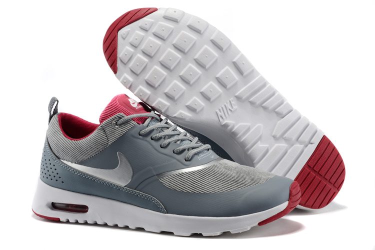 air max thea gris rouge