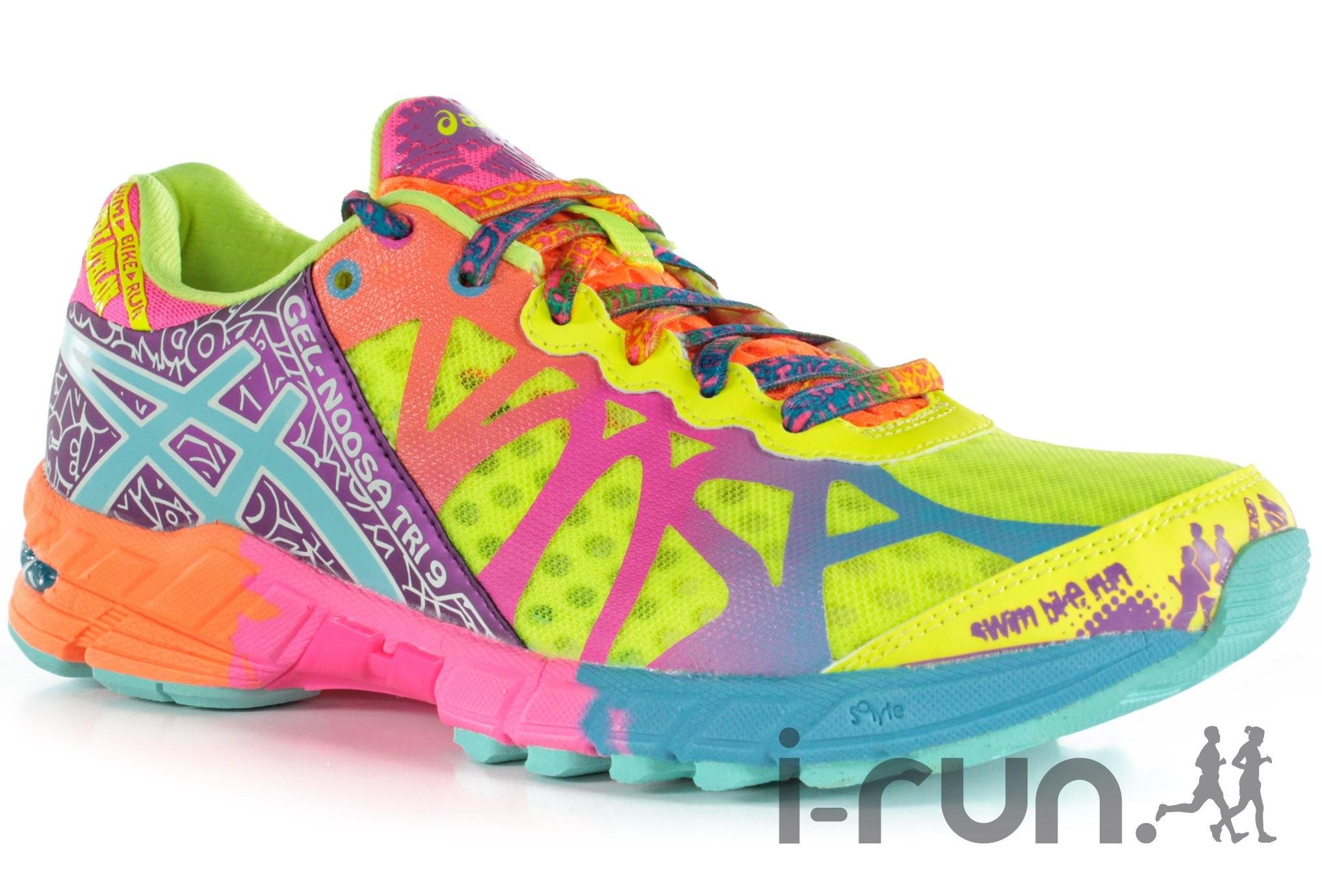 chaussures running course a pied asics gel ziruss femme gris asics