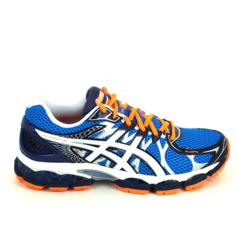 asics running bleu