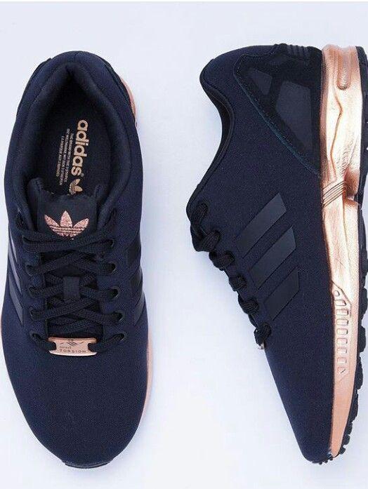 basket adidas noir et rose gold