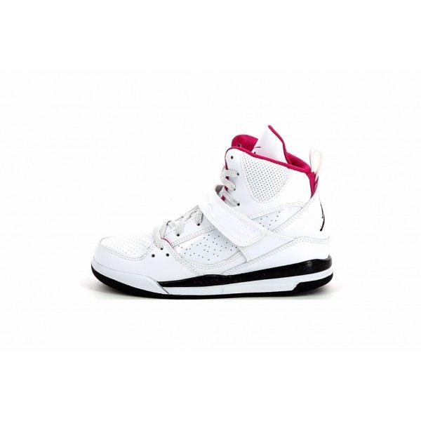 basket jordan fille blanc