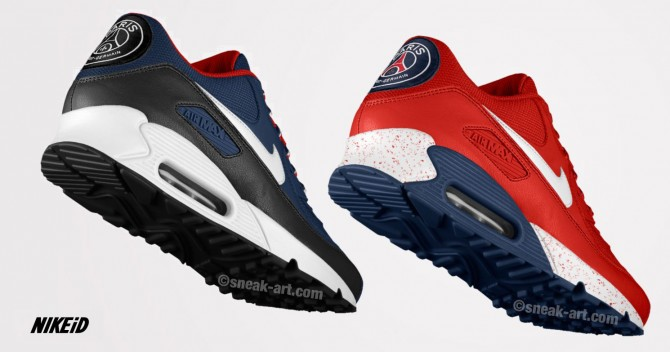 basket nike air max psg