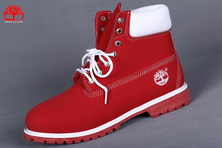 30487833f09a6d botte timberland homme rouge