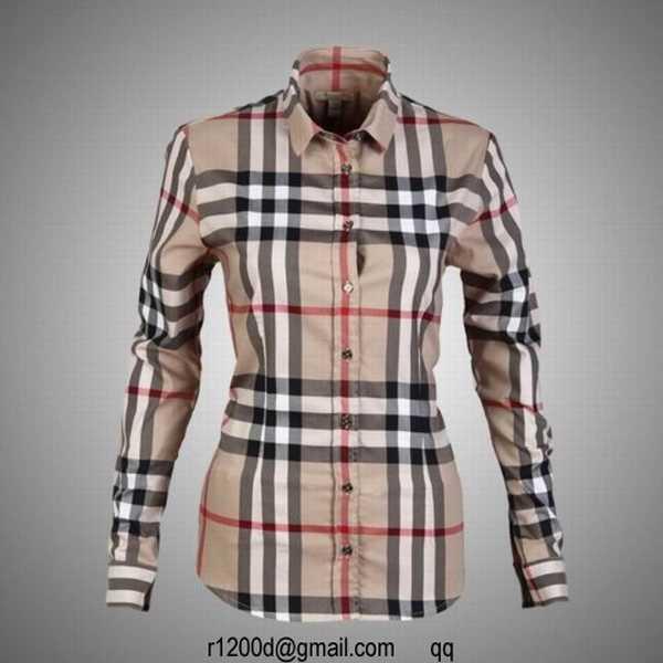 ed8b943185de burberry chemise femme
