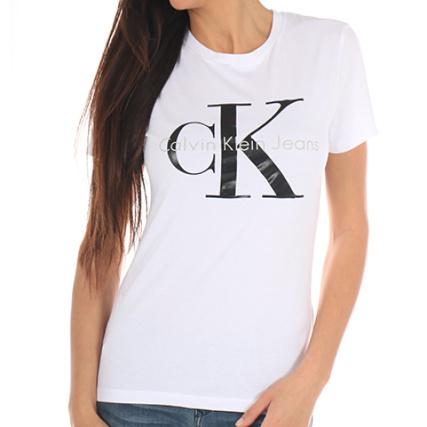8ece561157d calvin klein t shirt femme