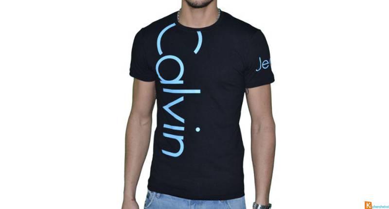 49d548e3c80 Prix de gros calvin klein tee shirt homme pas cher France vente en ligne