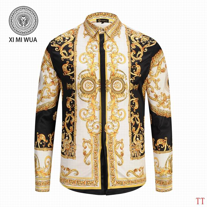 0350137cdb3 Prix de gros chemise versace vintage homme pas cher France vente en ligne