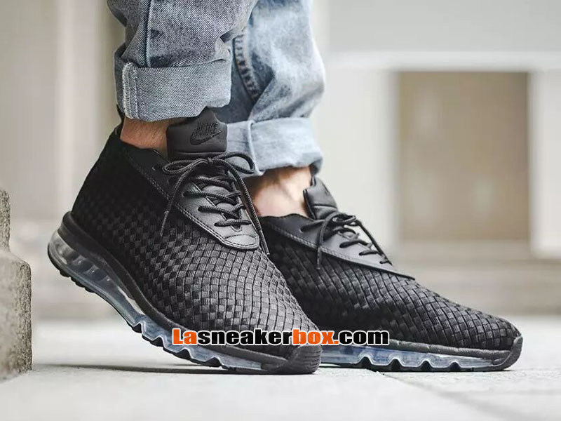 the latest 26169 56f18 nike air max woven boot pas cher