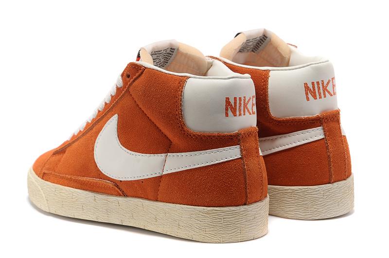sports shoes 57a2b ef190 nike blazer orange pas cher