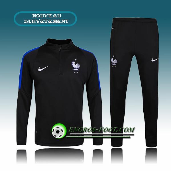 Survêtement de foot nike Training France 2015 Bleu