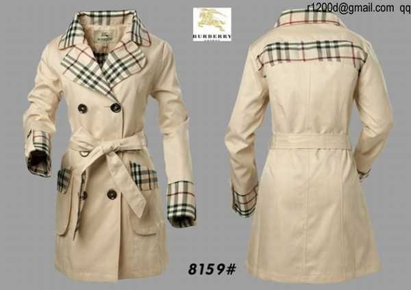 2b807f037914 trench burberry pas cher femme